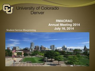 RMACRAO  Annual Meeting 2014 July 16, 2014