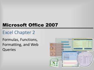 Excel Chapter 2
