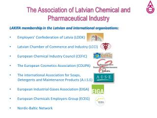 The Association of Latvian Chemical and Pharmaceutical Industry