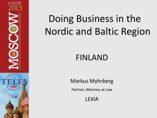 Doing Business in the Nordic and Baltic Region