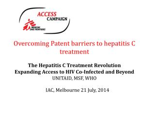 IAC, Melbourne 21 July, 2014
