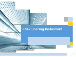 Risk Sharing Instrument