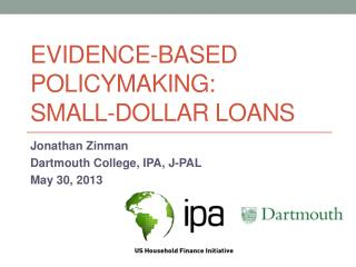 Evidence-Based Policymaking: Small-Dollar Loans