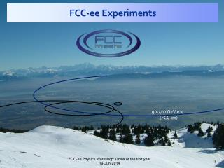 FCC- ee  Experiments