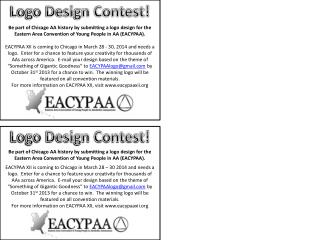 Logo Design Contest!