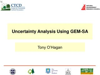 Uncertainty Analysis Using GEM-SA