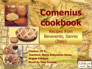 Comenius cookbook