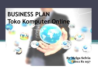 BUSINESS PLAN  Toko Komputer  Online