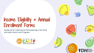 Income Eligibility Forms