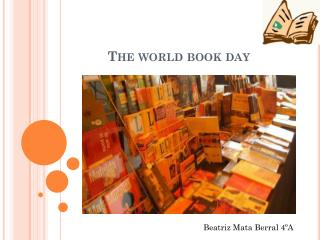 The world book day