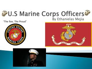 U.S Marine Corps Officers