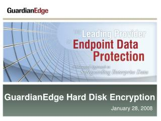 GuardianEdge Hard Disk Encryption