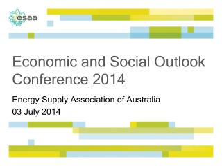Economic and Social Outlook Conference 2014