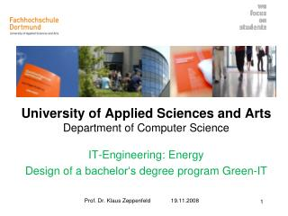University of Applied Sciences and Arts Department of Computer Science