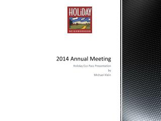 2014 Annual Meeting