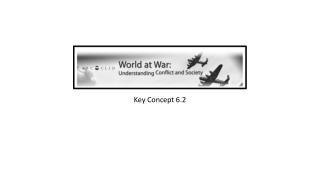 Key Concept 6.2