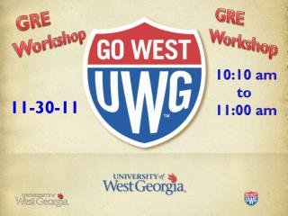 GRE			   Workshop