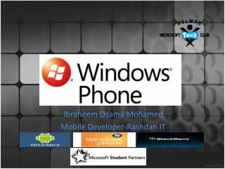 Ibraheem Osama  Mohamed Mobile  Developer - Rashdan  IT