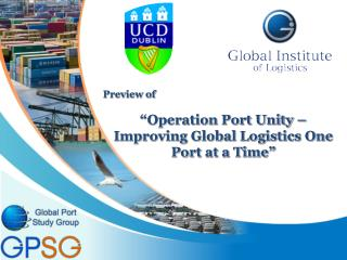 "Preview  of ""Operation  Port Unity – Improving Global Logistics One Port at a Time"""