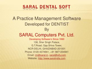 SARAL DENTAL SOFT
