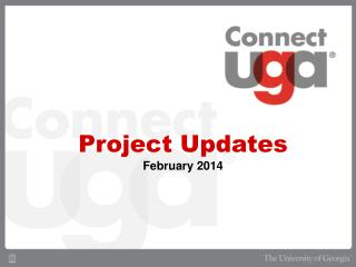 Project Updates February 2014