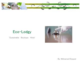 Eco- Lodgy Sustainable   Boutique   Hotel