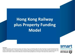 Hong Kong Railway plus Property Funding Model