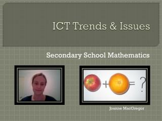 ICT Trends & Issues