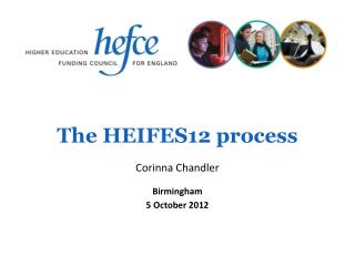 The HEIFES12 process