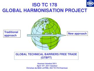 ISO TC 178 GLOBAL HARMONISATION PROJECT
