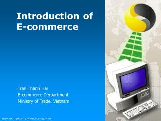 Introduction of E-commerce