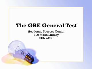 The GRE General Test