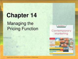 Managing the Pricing Function
