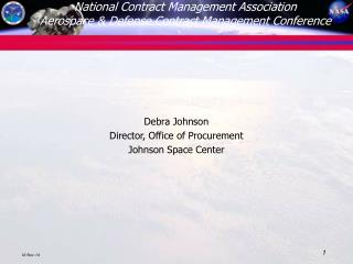National Contract Management Association Aerospace & Defense Contract Management Conference