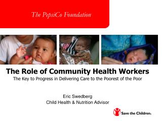 The Role of Community Health Workers