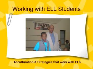 Working with ELL Students