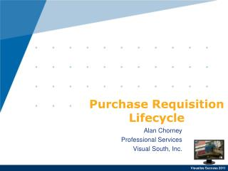 Purchase Requisition Lifecycle
