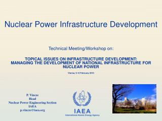 Nuclear Power Infrastructure Development