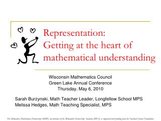 Representation:  Getting at the heart of mathematical understanding
