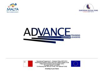 Developing Leader for Change & Innovation in Tourism