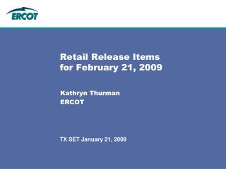 Retail Release Items for February 21, 2009