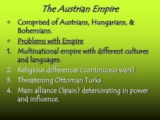 The Austrian Empire