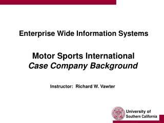 Motor Sports International