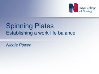 Spinning Plates Establishing a work-life balance