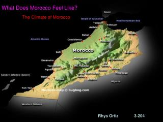 What Does Morocco Feel Like?