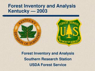 Forest Inventory and Analysis Kentucky — 2003