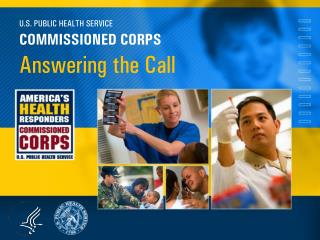U.S. PUBLIC HEALTH SERVICE COMMISSIONED CORPS