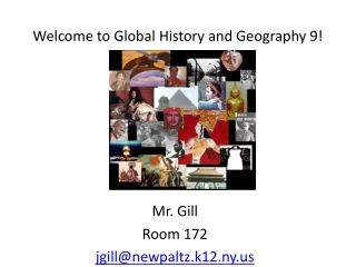 Welcome to Global History and Geography 9!