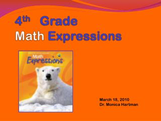 4 th    Grade  Math  Expressions