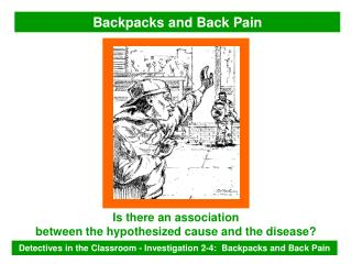 Backpacks and Back Pain